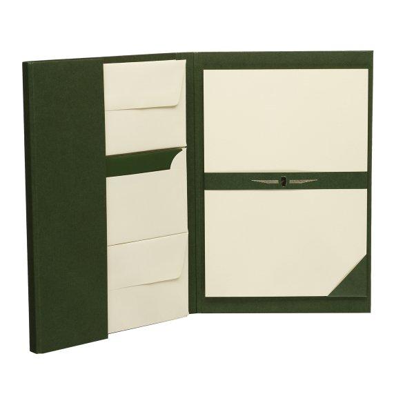 Paper Royal - Briefpapiermappe 25/25,DIN A4/DL, chamois ger.