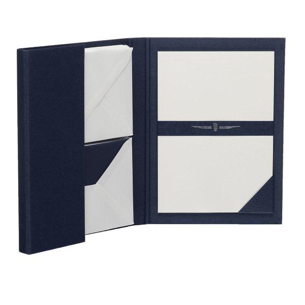 Paper Royal - Briefpapiermappe 15/15 DIN A5/C6, weiß ger.