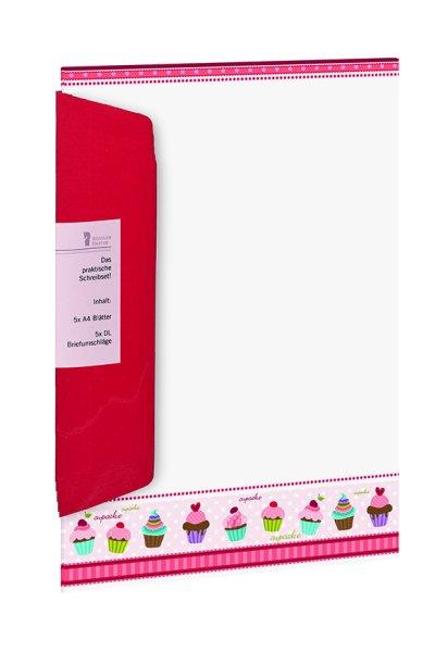 Designpack 5/5 A4/DL - Cup Cakes