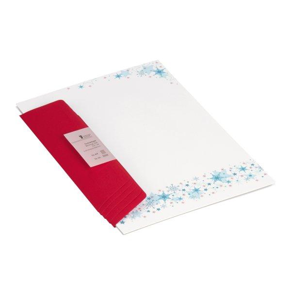 W-Design-Pack 5/5 A4/DL - Kristalle und Sterne /BU(36)