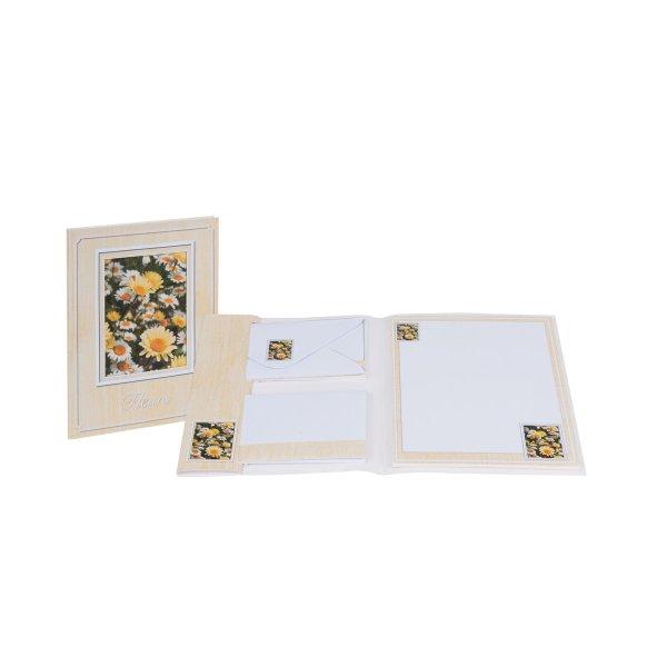 Fleurs-Briefpapierpack 10/10 -210x170/90x177 - Sortierung