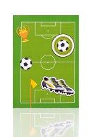 Fußballfeld - Briefpack 10/10 - 165x235/90x177