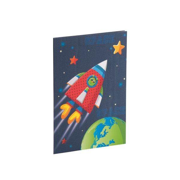 Rakete - Briefpapierpack 10/10 - 165x235/90x177
