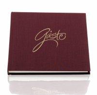 Forever-geb.Buch .HF Gäste 210x210 (96), rosso