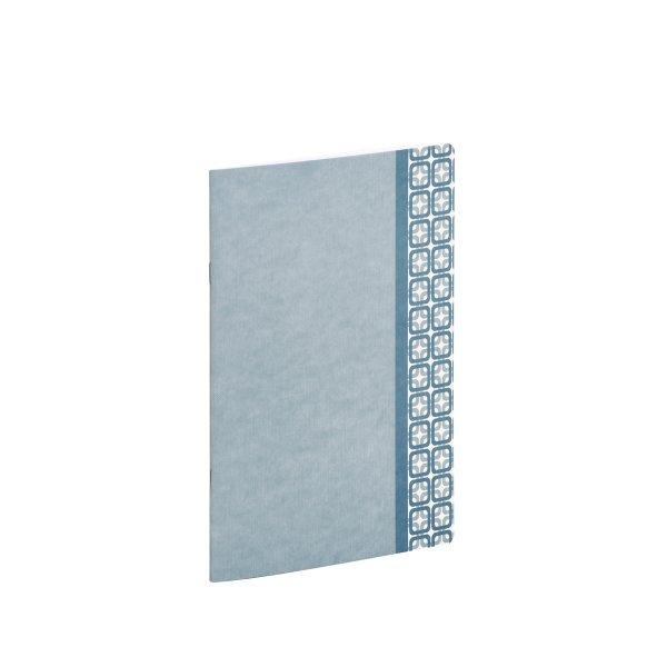 Dusty Blue-Frame - Notizheft A6
