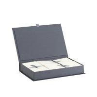 Bütten First Class, Grau-Briefkassette 40/10/50,...