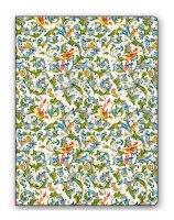 Faltmappe / Sammelmappe Florentiner Muster - birds