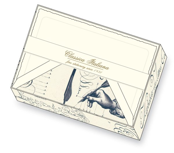 Kartenpackung 10/10 Scriptura 11,5 x 17 cm