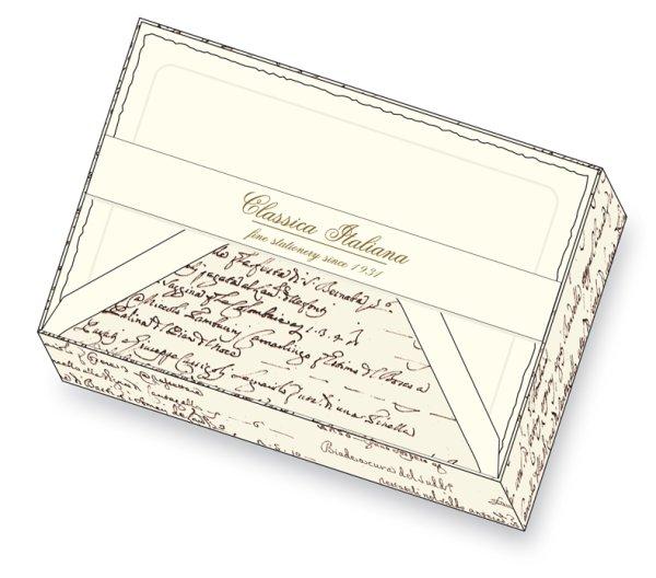 Kartenpackung 10/10 Schrift 11,5 x 17 cm