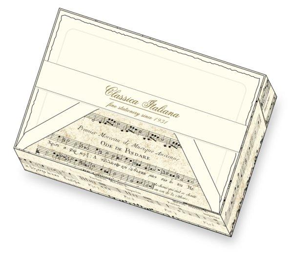 Kartenpackung 10/10 Noten alt 11,5 x 17 cm