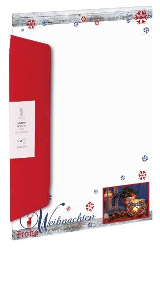 W-Design-Pack 5/5 A4/DL Frohe Weihnachten-BU rot (36)