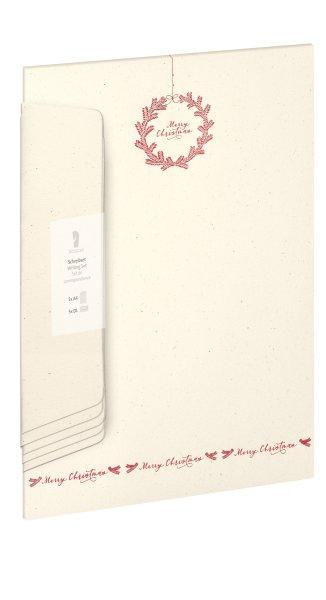 W-Design-Pack 5/5 A4/DL,Merry chris.m.Kr.,HF rot-Van.-BU van.