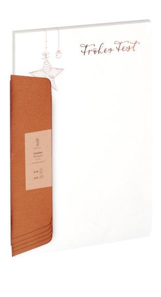 W-Design-Pack 5/5 A4/DL,Froh.Fest/St. HF roségd (09)-BU 306