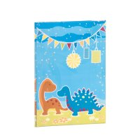 Dino Party - Briefpapapierpack 10/10 - 165x235/90x177
