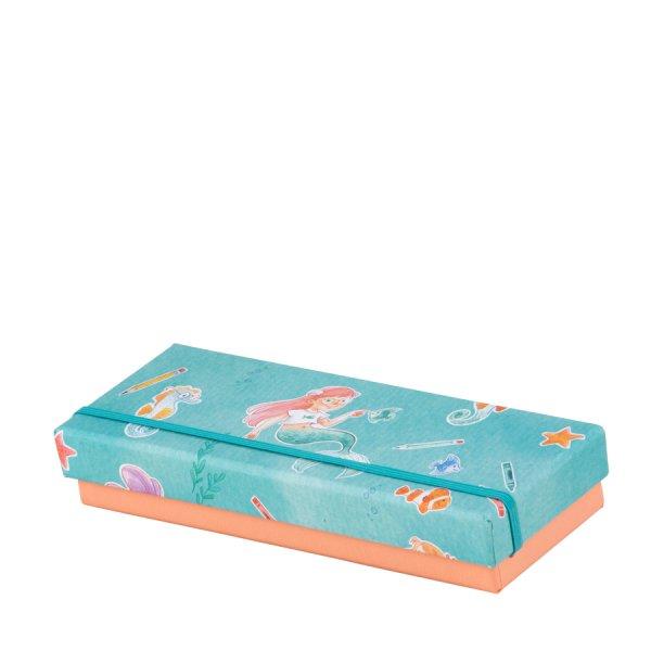 Lotta -Stifte/Kleine Utensilien-Box m. Gummizug,190x70x30 mm