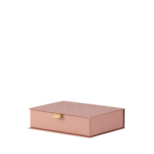 Art Deco, Rosewood, Memories/HF- Box 215x52x155 mm m.Eint.
