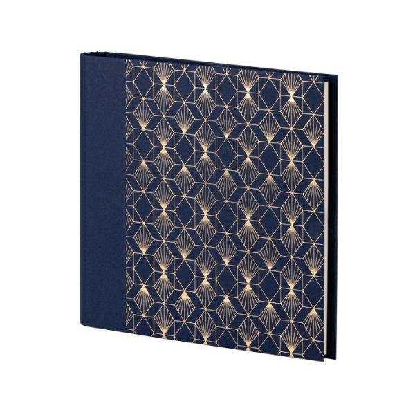 Art Deco, Nightblue - Gäste/Fotobuch, 220x230, 60 Seiten