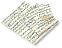 Notizblock DIN A4 Sonata 50 Blatt