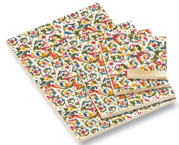 Notizblock DIN A4 Florentiner Muster 50 Blatt