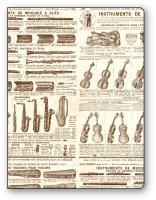 Faltmappe / Sammelmappe Instrumente