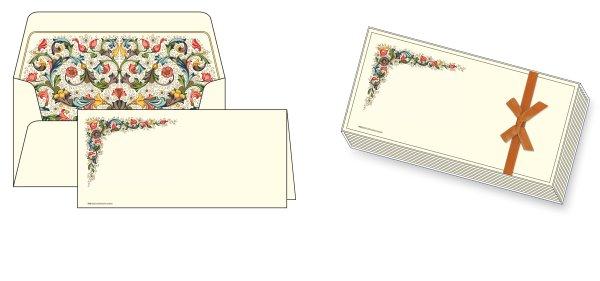 Kartenpackung 10/10 Florentiner Muster 17 x 18cm