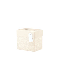 Julie, Pastell Apricot Sammelbox, 205x195x150 mm